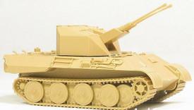 Panther Coelian Anti Aircraft Tank. Arsenal-M 222100051. New 1/87 Plastic Kit