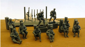 British Paratroopers Mounted Trident 96602 New 1/87 Scale Resin Kit Unfinished