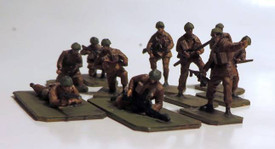 British Paratroopers Fighting Trident 96603 New 1/87 Scale Resin Kit Unfinished