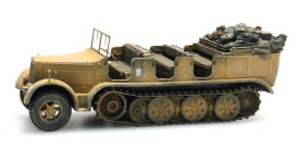 German Half Track Sd.Kfz. 7, 8 ton Artitec 6870066 New 1/87 Finished Model