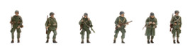 US WWII Paratroops w/Weapons Artitec 387.89 New 1/87 Finished Figures