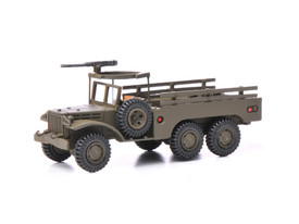 Dodge 6X6 Personnel Carrier Wespe 87123 New 1/87 Scale Resin Kit Unfinished