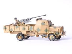 German Bussing Nag Flak 37 Wespe Models 87129 Resin 1/87 Scale Kit Unfinished