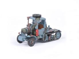 French Somua MCG 4/11 Artillery Tractor Wespe Models 87137 Resin 1/87 Scale Kit