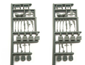 Weapons Tools Backpacks Ammo Boxes SDV 1095 New 1/87 Scale Accessories