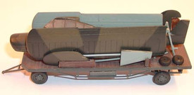 Fieseler Storch on Transport Wagon Artmaster 80196 New 1/87 Resin Kit