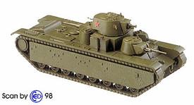 Russian T-35 Heavy Tank (1938) Artmaster 80803, Minitanks 1202 New 1/87 Scale Kit