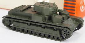 Russian T-28 (1935) Medium Tank. Minitanks 1203 New 1/87 Plastic Kit