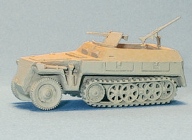 German WWII Light Half track Personnel Carrier. Trident 90248 New 1/87 Plastic