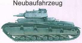 Neubaufahrzeug German Medium Tank Artmaster 80.380 New 1/87 Resin Kit