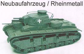 Neubaufahrzeug Command Tank Artmaster 80.639 New 1/87 Resin Kit