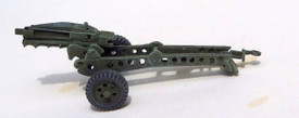 U.S. M1A1, 75mm Pack Howitzer Trident 87181 Resin 1/87 Scale Kit Unfinished
