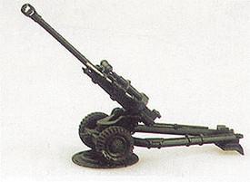 L119 British 105mm Howitzer Light Gun Trident 90029 Resin 1/87 Scale Kit
