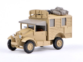 British Morris CS8 Radio Truck Wespe 87171 Resin 1/87 Scale Kit Unfinished
