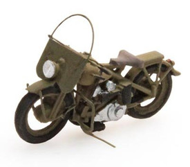 US Liberator Motorcycle Artitec 387.06 Resin 1/87 Painted Finished Model