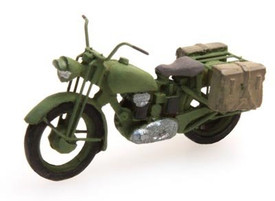 British Army Triumph Motorcycle Artitec 387.07 Resin 1/87 Painted Model