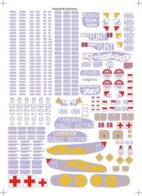 US Army Vietnam Markings Set 3, Arsenal-M 144500023 New 1/87 Scale Decals