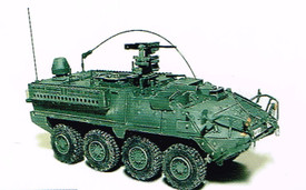 Stryker M1130 Command CV TACP Trident 87102 Resin 1/87 Scale Kit Unfinished