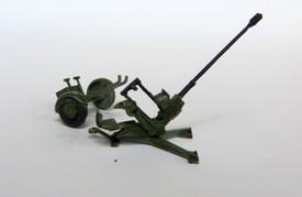 Oerlikon 20mm Anti-Aircraft Autocannon Trident 87206 Resin 1/87 Unfinished Kit