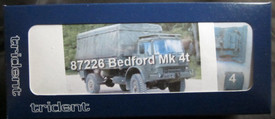 Bedford MK 4ton truck Trident 87226 Resin 1/87 Unfinished Model Kit