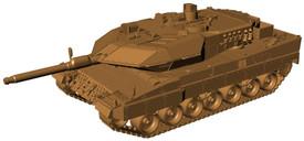Leopard 2A5 MBT Bundeswehr Arsenal-M211100101 New 1/87 Scale Plastic Kit Unfinis