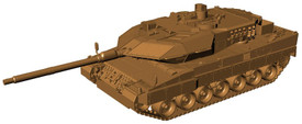 Leopard 2A6M MBT Bundeswehr Arsenal-M211100111 New 1/87 Scale Plastic Kit Unfinished