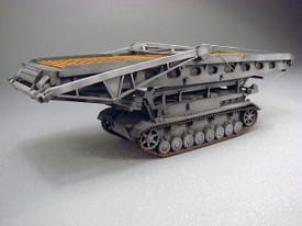 Bridge Layer Bruckenlegepanzer IV German WWII Trident 87186 Resin 1/87 Kit