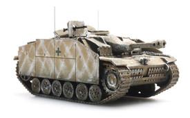 German Stug III Ausf G, Sturmhaubitze Artitec 387.50-WY New 1/87 Finished Kit