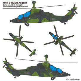 UHT Tiger Asgard ISAF Arsenal-M 221600021 Plastic 1/87 Scale Kit Unfinished