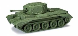 British WWII Cromwell IV MK VIII Minitanks 268 Plastic 1/87 Kit Unfinished