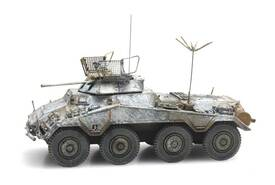 Sd.Kfz. 234/1 Heavy 8 Wheel Armored Car Artitec 6870252 Finished 1/87 Model
