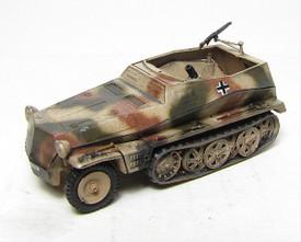 German WWII Light Half Track w/81mm Mortar. 1/87 Scale Trident 90247G Plastic