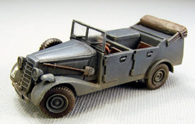 Horch Kfz 2/40 Ipkw, Truck Trident 87096 New 1/87 Resin Kit Unfinished