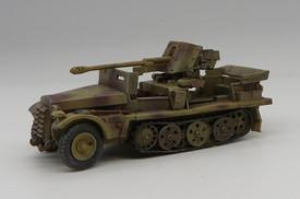 Sd.Kfz 10 Light Half Track 5cm Pak 38 Trident 87101 Resin 1/87 Kit Unfinished