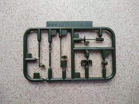 RHINO Anti-IED-Devices Kit Arsenal-M 224500001 Plastic 1/87 Scale Kit