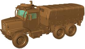 Oshkosh MTVR Mk.23, 7.5t Flatbed Unarmored, USMC Arsenal-M 224200101 Plastic 1/87 Kit