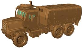 Oshkosh MTVR Mk.23 flatbed / Armored Cab, USMC Arsenal-M 224200111 Plastic 1/87