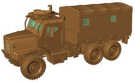 Oshkosh MTVR Mk.23 MAS Artillery Tractor Arsenal-M 224200121 Plastic 1/87