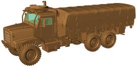 Oshkosh MTVR Mk.27 Long Wheelbase, Unarmored, USMC Arsenal-M 224200131 Plastic 1/87 Kit