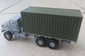 Oshkosh MTVR Mk.27 Long WB, Unarmoured w/container Arsenal-M 224200141 Plastic 1/87 Kit