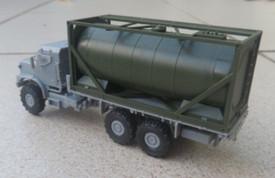 Oshkosh MTVR Mk.27 Long WB, Unarmoured, w/20 Ft Tank Arsenal-M 224200151 Plastic 1/87 Kit