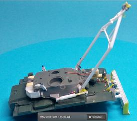 Combat Engineer Vehicle Arsenal-M 114102141 Resin 1/87 Kit Unfinished