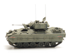 US ARMY M2 Infantry Fighting Vehicle BRADLEY Artitec 6870262 Finished 1/87 Model