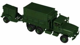 U.S. M-923/M-925 Truck w/M200 A1 Generator Trailer Minitanks 460 Plastic 1/87 Scale Kit