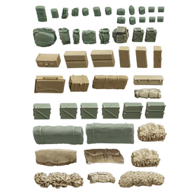 Military Accessories, Boxes Ammo Cans, Tarps AlsaCast 8775.211 Resin 1/87 Kit Unfinished