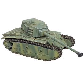 ARL 44 French Heavy Tank AlsaCast 8775.212 Resin 1/87 Scale Kit Unfinished