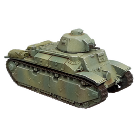 Char D2 Medium Tank AlsaCast 8775.218 Resin 1/87 Scale Kit Unfinished