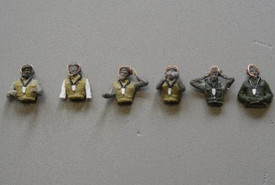 Bundeswehr Tank Crew 6 Figures Arsenal-M 111500101 Resin 1/87 Scale Kit