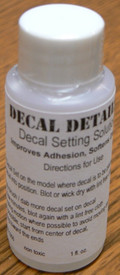 Decal Setting Solution IN-1066 Ioz Bottle Improves Adhesion