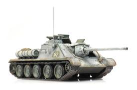 SU-85M Self Propelled Tank Destroyer Artitec 6870364 Finished 1/87  Model